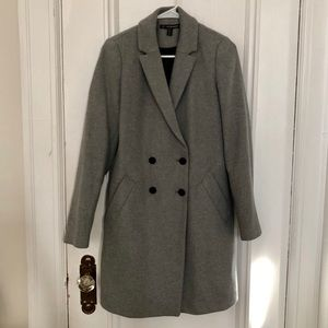 Zara TRF Double Breasted Coat